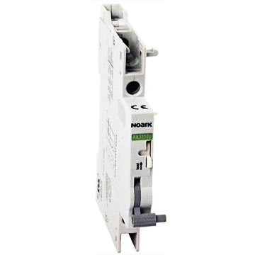 auxiliary contact UL 1077 supplementary protectors accessories - DIN Rail miniature circuit breakers Noark